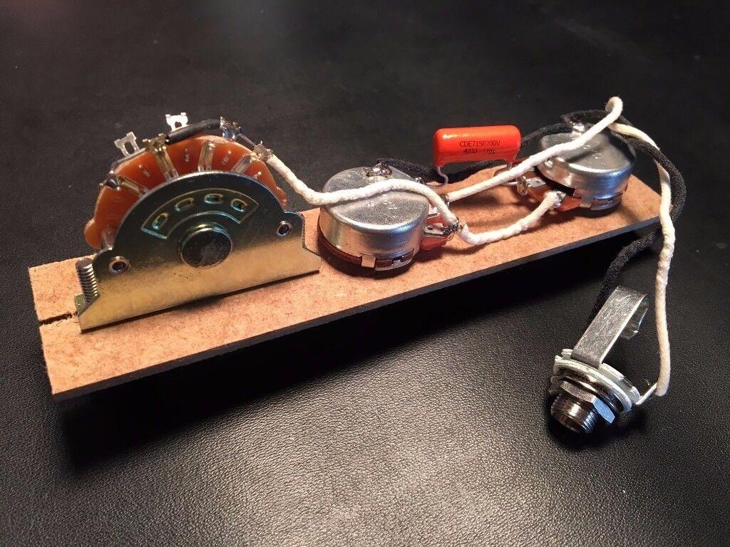 Telecaster Style Wiring Harness Squier Import Guitars Alpha Pots Gibson Uk Orange Drop Cap