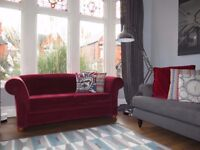Red NEXT Large 2 Seater Sofa