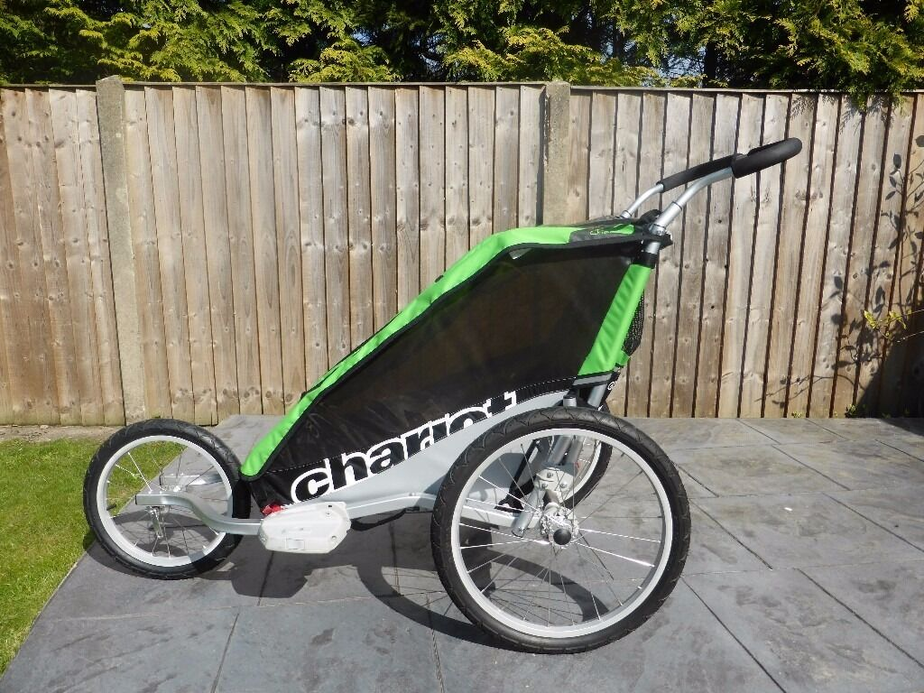 chariot cheetah 1 child bike trailer and jogging kit. Black Bedroom Furniture Sets. Home Design Ideas