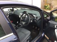 A little used dark blue Ford,Fiesta Zetec,in first class all round condition,new mot, must be seen.