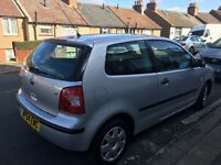 VW Polo 1.4 , 45 k milage, 2door, 2004, 2 previous owners, good family car no longer needed
