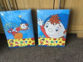Noddy Single Duvet Cover and Matching Curtains