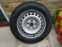VW Transporter spare wheel 205/65 R16
