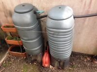 Small Water Butts x2