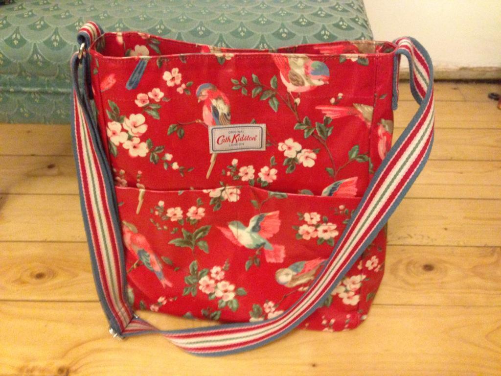 Cath Kidston large cross body handbag