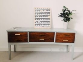 Upcycled beautiful dresser