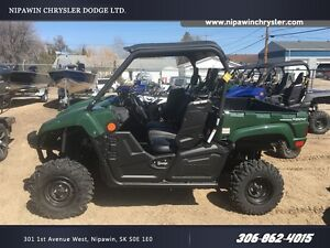 2017 yamaha  Viking EPS Green