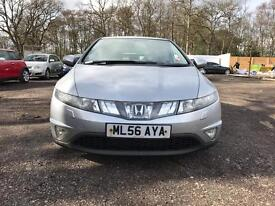 Honda Civic i-vtec, 5 dr hatchback, 1 year Mot, 2 keys