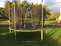 10 ft Trampoline and net