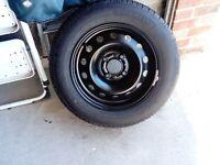 Citroen C3 (56 Reg) Spare Wheel, Tyre (Michelin R14), Jack and Storage Pack