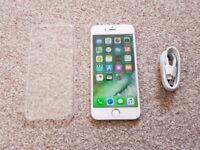 Apple iPhone 6 16GB White Silver - O2 / GIFFGAFF