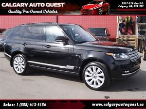 2013 Land Rover Range Rover Supercharged 4WD/NAVI/B.CAM/LEATHER/