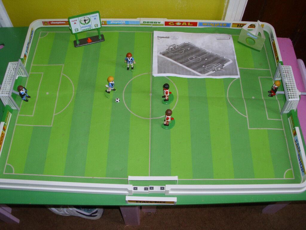 PLAYMOBIL LARGE FOOTBALL STADIUM