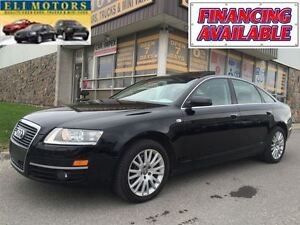 2008 Audi A6 3.2L.QUATTRO/NAVIGATION/ LEATHER/POWER SUNROOF/ALL