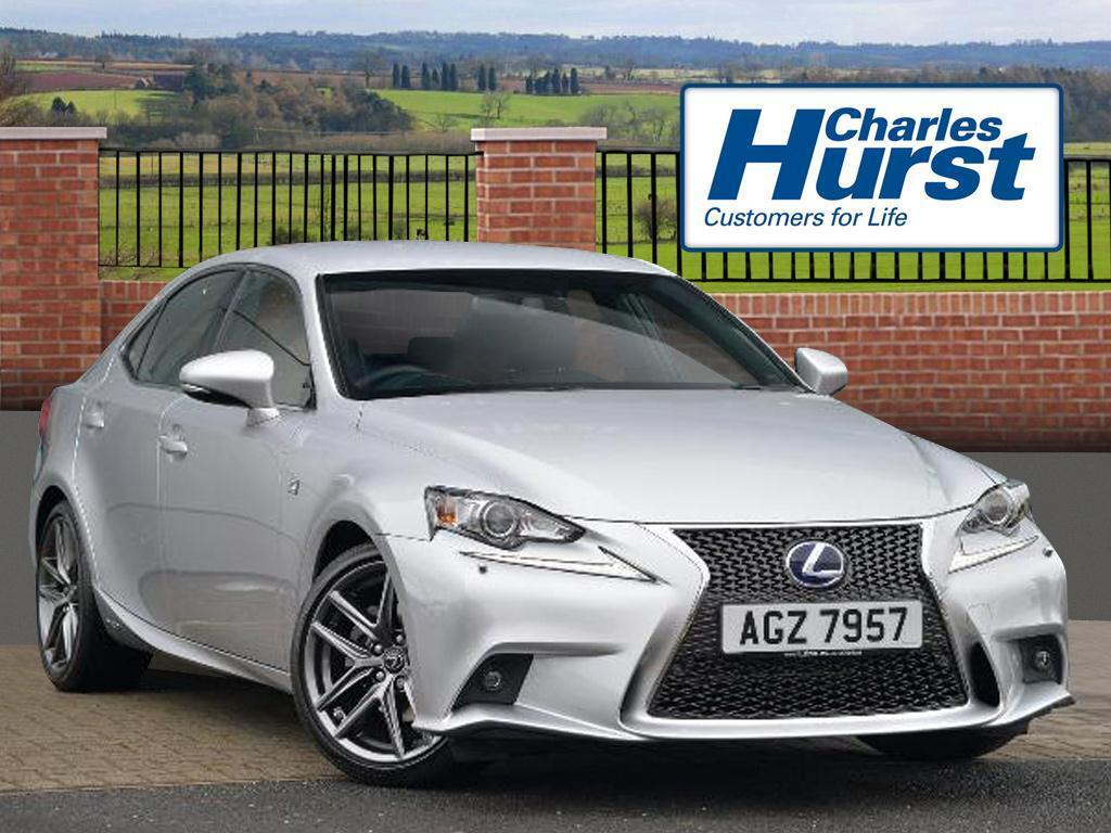 lexus is 300h f sport silver 2016 01 30 in county antrim gumtree. Black Bedroom Furniture Sets. Home Design Ideas