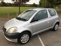 Toyota Yaris 1.0 16v VVT GS 76,000 Full Service History 2 owners Just Serviced
