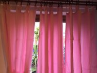 curtains for girls room, or baldachin for four poster bed by the little white company