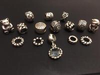 Pandora Charms £10-15 each