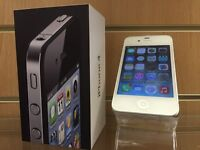 iPhone 4 White on O2 Boxed