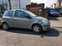 TOYOTA YARIS 2004 FACELIFT STARTS AND DRIVES GREAT BARGAIN £595