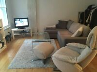 Grey Corner Sofa-Bed (John Lewis)