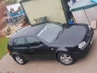 2002 VW Golf MK4 1.9TDI Black