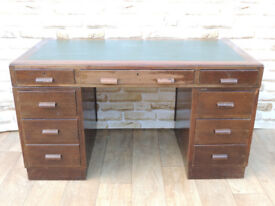 Retro wooden quality desk (Delivery)