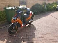 Aprilia sr50 motatrd second owner