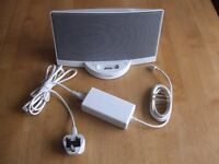 Original White Bose Sounddock Sound Dock Speaker for Ipod Collection From Essex SS6