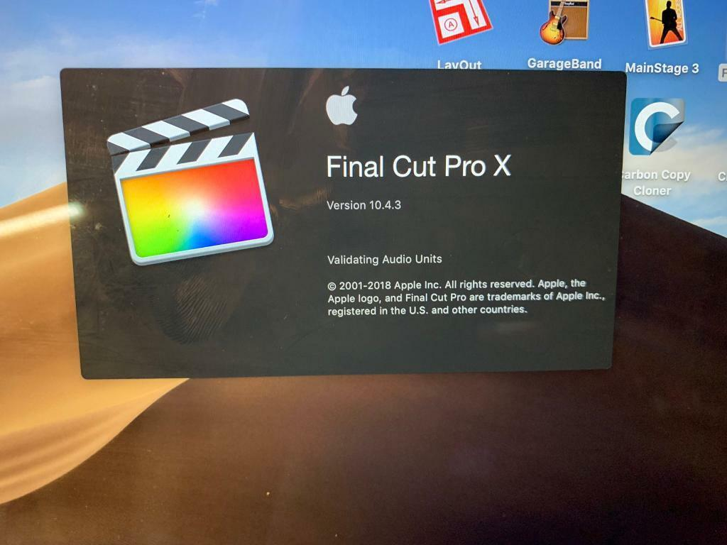 Apple Final Cut Pro Garageband Mainstage 3 Motion For Macbook Pro Air In Walthamstow London Gumtree