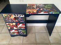Super Heros Marvel Children Desk Pine Desk *free local delivery *