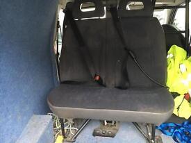 Van back seat