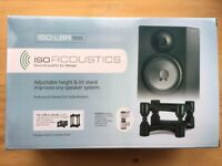 IsoAcoustics ISO-L8R (155) Monitor/Speaker stands **BRAND NEW**
