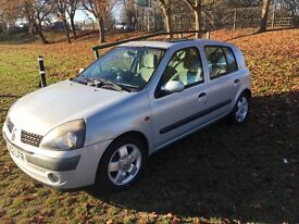 2002 renault clio 1.4 16v auto