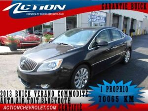 2013 BUICK VERANO SEDAN COMMODITÉ,TOIT,BLUETOOTH