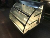 COLD COUNTER TOP DISPLAY CABINET CATERING COMMERCIAL FAST FOOD RESTAURANT CAFE CHICKEN PIZZA KEBAB