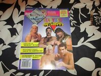 WCW OFFICIAL MAGAZINE DECEMBER 1993 DIFFERENT WCW WRESTLERS ON THE COVER have others for sale