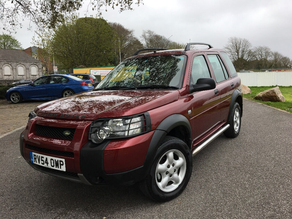 2004 land rover freelander td4 se s w red brand new turbo 12 months mot 4x4 in plymouth. Black Bedroom Furniture Sets. Home Design Ideas