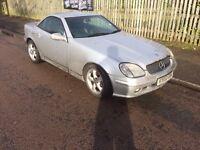 Mercedes-Benz SLK 3.2 SLK320 requires alternator 2002 (02 reg), Convertible