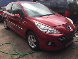 2010 PEUGEOT 207 MILESIM 200 LIMITED EDITION