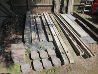 Concrete Posts - fencing/bricks/toe boards/gravel boards