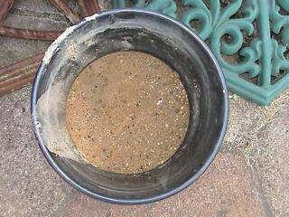Brown aquarium sand for fish tank aquarium