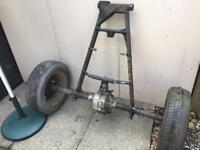 Reliant Robin Trike rear axle