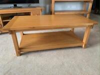 Coffee Table 100% Solid Oak