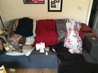 Job lot bundle of clothes sizes 10 - 14 topshop/warehouse/Wallis/H&M/vintage