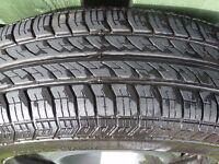 NEW CONTINENTAL TYRE SIZE 195X65X15 ON PEUGEOT 406 SPARE WHEEL