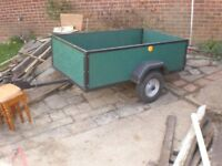 Trailer 5x3 drop tail gate /lights