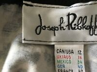 Joseph Ribkoff leopard print dress & matching short jacket suite