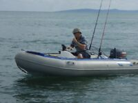 3.9 Metre rib 25hp Yamaha 2 stroke trailer ready to use OPEN TO OFFERS