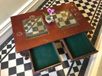 Vintage Wooden Coffee Table with draws
